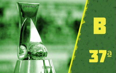 A classificação da Série B de 2020 após a 37ª rodada; acesso inédito do Cuiabá