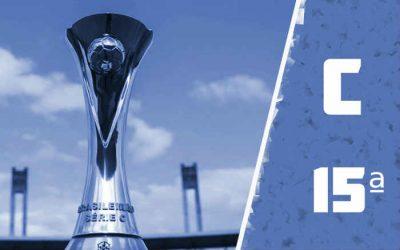 A classificação da Série C de 2020 após a 15ª rodada; Santa Cruz garante 1º lugar