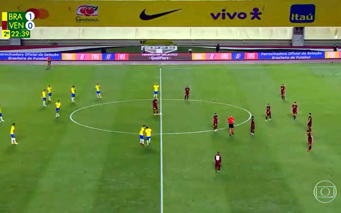 TV | Audiência de Brasil x Venezuela na Globo ficou abaixo do Horário Eleitoral