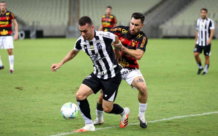 Desfalcados, Ceará e Sport empatam sem gols no Castelão. Vozão finalizou muito mais