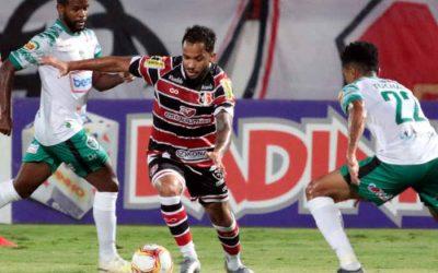 Relaxado, Santa Cruz é surpreendido pelo Manaus e perde no Arruda após 16 meses