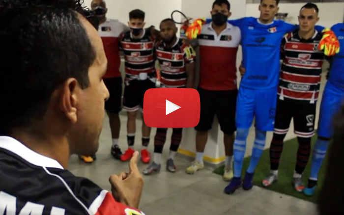 Vídeo   Os bastidores de Santa Cruz 2 x 0 Vila Nova, pela Série C de 2020