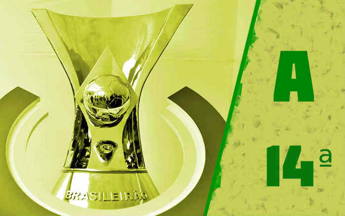 A classificação da Série A de 2021 após a 14ª rodada; Sport e Ceará vencem clássicos