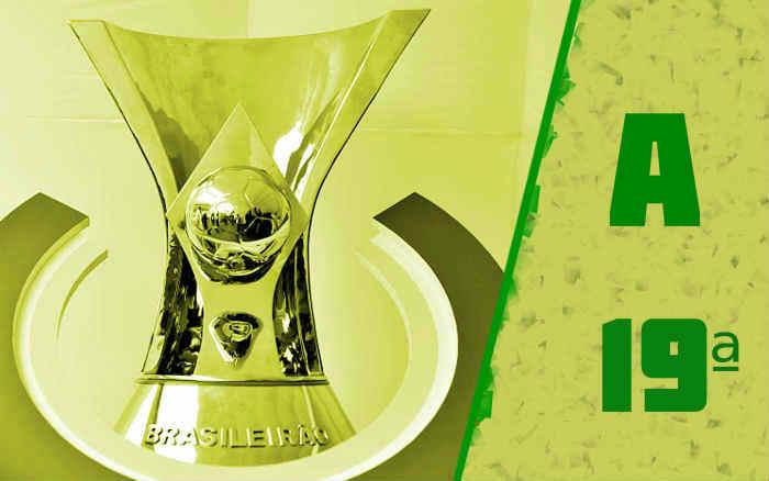 A classificação da Série A de 2021 após a 19ª rodada; fim do 1º turno, sem campeão