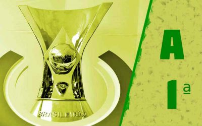 A classificação da Série A de 2021 após a 1ª rodada; Nordeste soma 10 dos 12 pontos