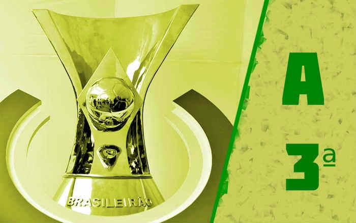 A classificação da Série A de 2021 após a 3ª rodada; Fortaleza segue na liderança