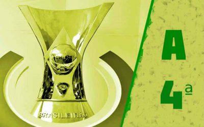 A classificação da Série A de 2021 após a 4ª rodada; sem nordestinos no Z4