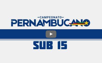 Ao vivo | Transmissão de Retrô x Sport, a final do Pernambucano Sub 15