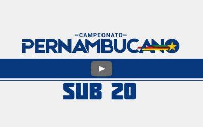 Ao vivo   Transmissão de Retrô x Náutico, a final do Pernambucano Sub 20