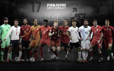A seleção da Fifa com os 11 melhores na temporada 2019/2020. Será mesmo?