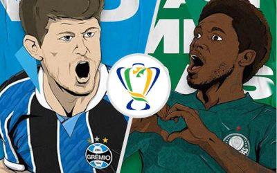 Grêmio e Palmeiras decidem a Copa do Brasil de 2020, na final de R$ 54 milhões