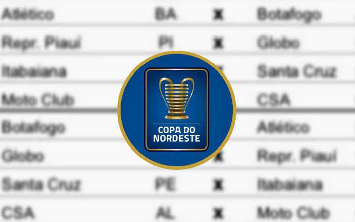 A tabela da preliminar do Nordestão 2021; Santa só estreia após o quadrangular da C
