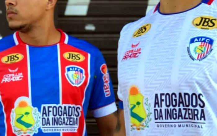 Afogados lança uniformes para 2021 através de parceria. São 2 marcas estampadas
