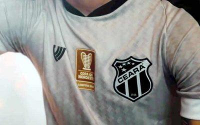 Atual campeão, Ceará lança camisa exclusiva para o Nordestão 2021; estreia em fevereiro