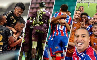 Após 32 rodadas, a 1ª classificação completa do Brasileirão 2020; nordestinos na briga