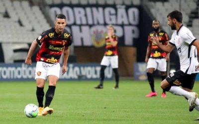 Com atuação pífia em SP, Sport perde do Corinthians e cai 2 posições na tabela