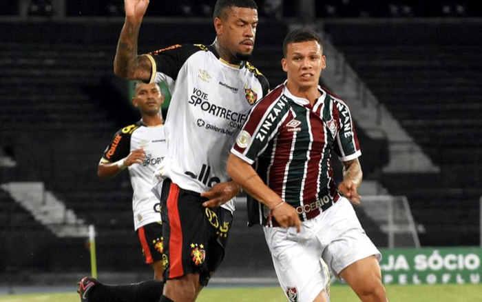 Com um a menos, o Sport perde do Fluminense no Rio; o 2º revés seguido no BR