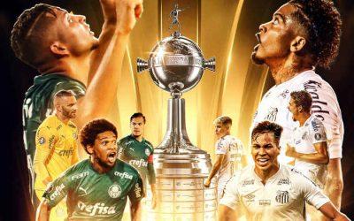 Palmeiras x Santos, uma final paulista no Rio; vale o 20º título do Brasil na Libertadores