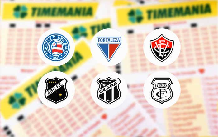 Timemania registra 88 milhões de apostas em 2020 e 6 clubes do Nordeste no top 20