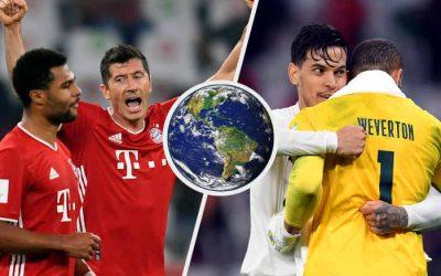 Com o Bayern, Uefa leva o Mundial pela 8ª vez. Com o Palmeiras, Conmebol tem pior campanha