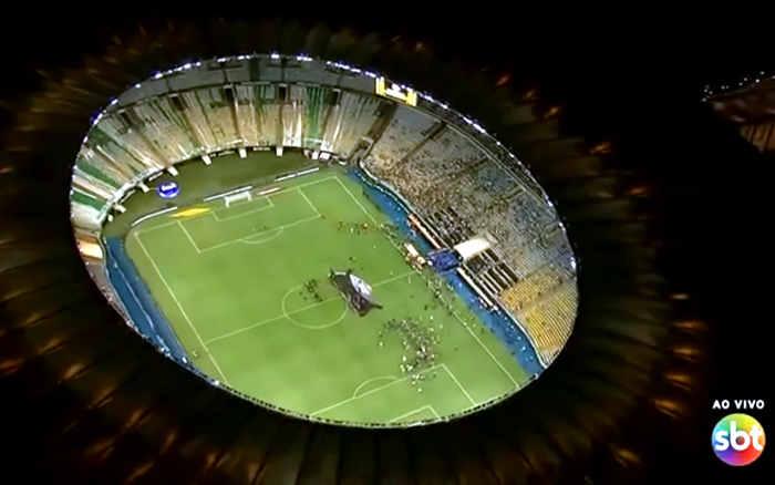 TV | As audiências da 1ª final da Libertadores no SBT, com 2 dígitos em todas as capitais