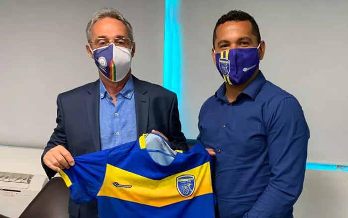 Caruaru City, o novo clube profissional de PE. Em tese, pagou uma taxa de R$ 826 mil