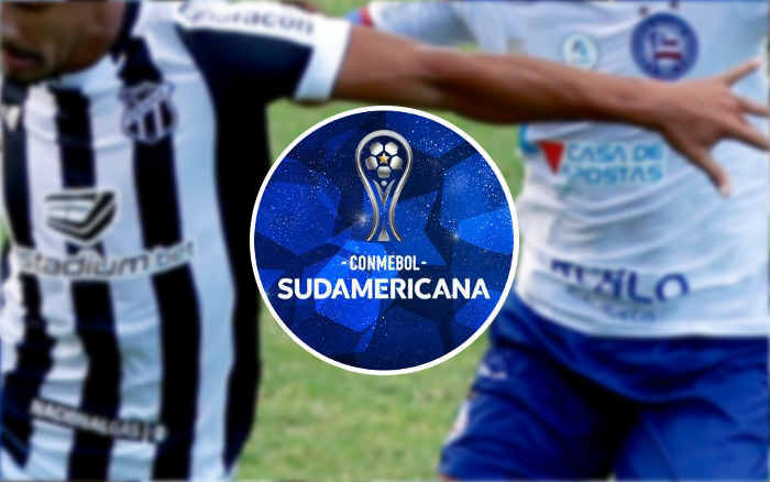 Ceará e Bahia na Sul-Americana de 2021, já com R$ 4,9 milhões; NE chega a 23 campanhas