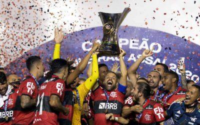 Hepta   Time de chegada, o Flamengo vence  o Brasileirão de 2020 na última rodada