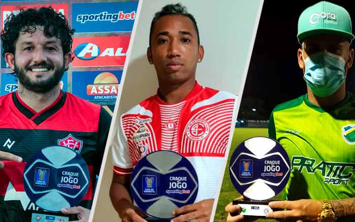 Os craques da Copa do Nordeste de 2021, com escolha oficial jogo a jogo; lista atualizada
