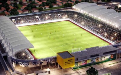 Sai do papel a Arena Romeirão, o estádio mais moderno do interior do Nordeste