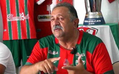 Presidente do Salgueiro revela negociação das vagas com o Náutico. De fato, não fazia sentido…