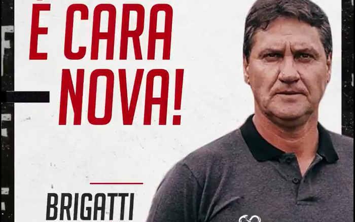 João Brigatti, o 1º técnico da gestão de Joaquim Bezerra no Santa; foco na Série C