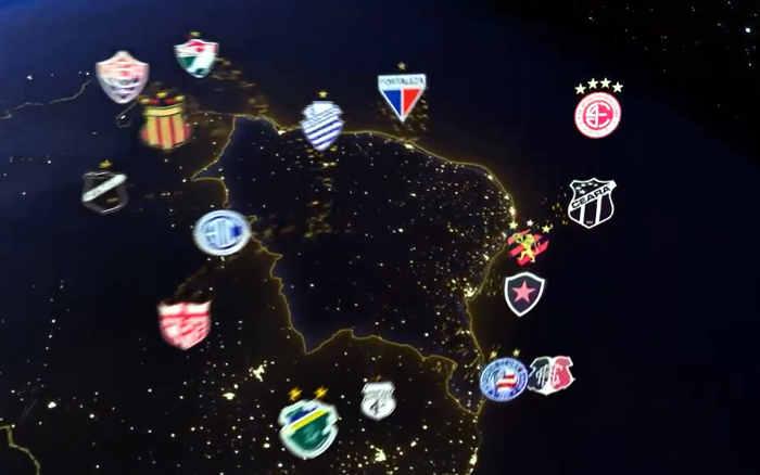 Vídeo | A nova vinheta da Copa do Nordeste para a edição 2021, com a trilha clássica