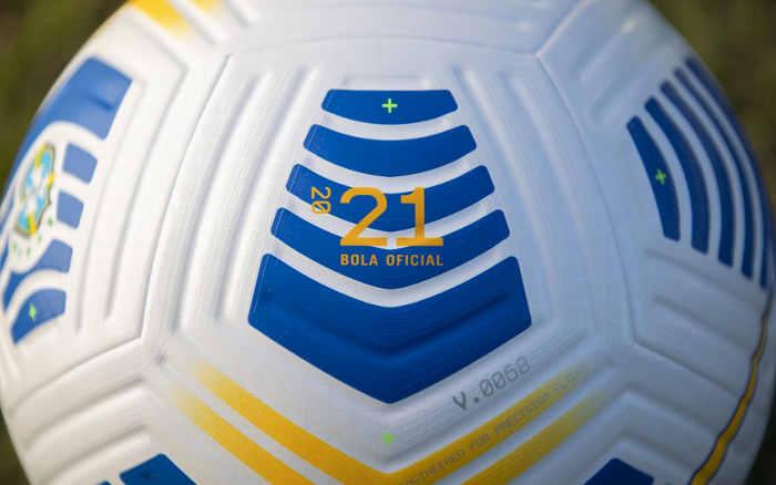 Após 68 versões, a bola oficial para os 502 jogos na Série A e na Copa do Brasil de 2021