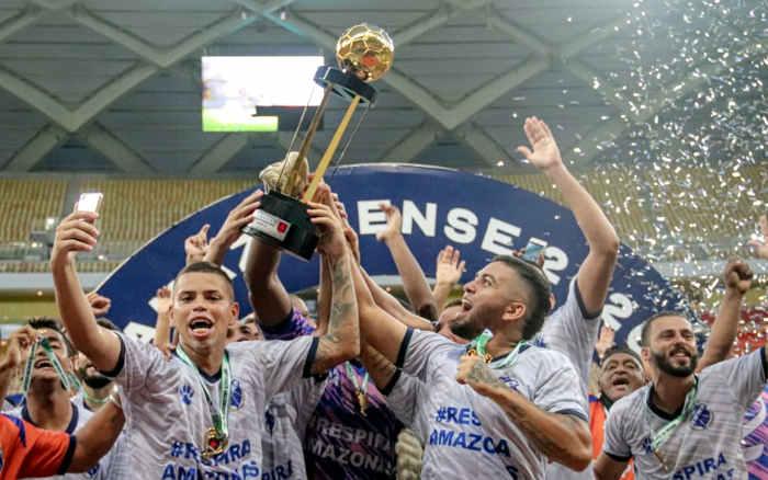 Com torneio refeito, Amazonas celebra o 27º campeão estadual de 2020; lista completa