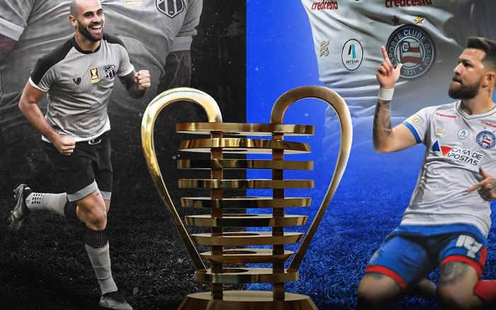 Ceará x Bahia, a final da Copa do Nordeste de 2021. Pela 3ª vez na história; vozão 2 x 0…
