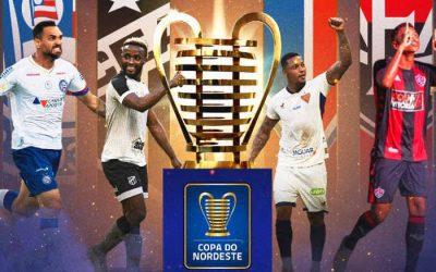 Semifinal da Copa do Nordeste 2021 com Fortaleza x Salvador. Jogos no Castelão…