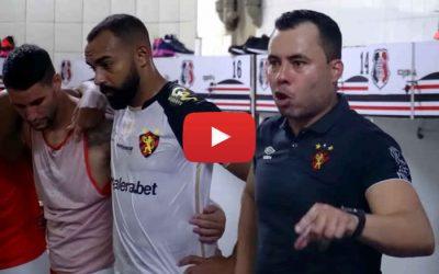 Vídeo | Os bastidores de Santa Cruz 1 x 2 Sport, pela Copa do Nordeste de 2021