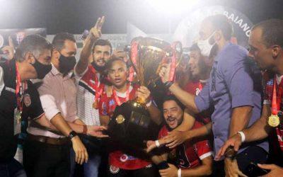 Após 51 anos, o Atlético de Alagoinhas ergue a sua 1ª taça e vira o 21º campeão baiano