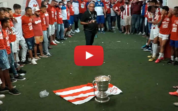 Vídeo   Os bastidores do título estadual do Náutico em 2021, com 23 minutos (23ª taça)