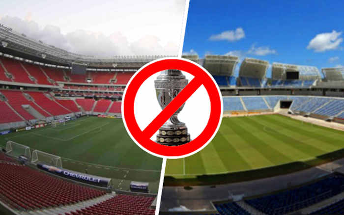 Forçada a mudar de país pela Covid-19, Copa América 2021 vai parar no Brasil. PE e RN fora