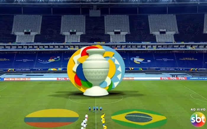 TV | Audiência da Seleção na 1ª fase da Copa América termina em 11 pontos, abaixo