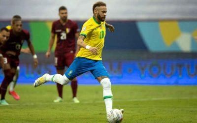 Brasil vence Venezuela na abertura da Copa América e Neymar vira vice-artilheiro geral