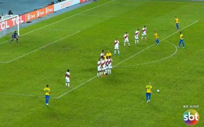 TV   A audiência da Copa América no SBT cai para 1/3 da Globo; Fortaleza liderou 2º jogo do BRA