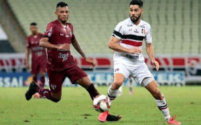 Santa Cruz perde do Ferroviário no Castelão e segue sem marcar gols na Série C