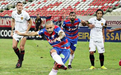 Fortaleza se aproveita de erros individuais do Sport, vence a 3ª e segue 100% no BR