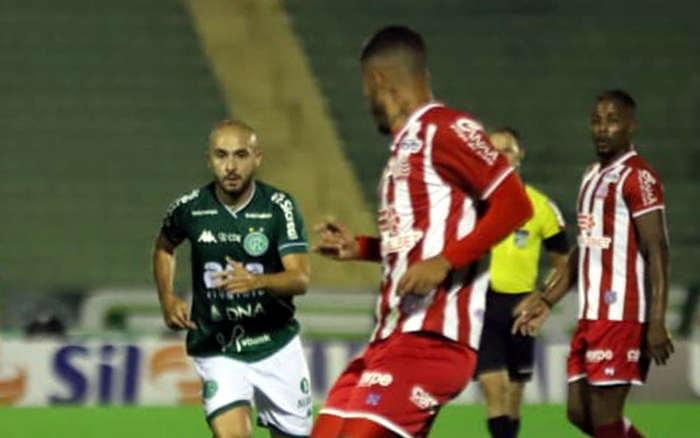Ataque funciona no 2T e Náutico bate o Guarani em SP, com a 3ª vitória seguida na B