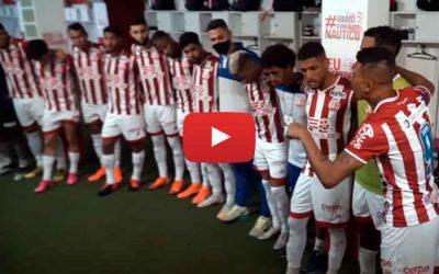 Vídeo   Os bastidores de Náutico 2 x 0 Vila Nova, pela Série B de 2021