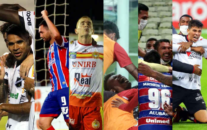 Nordeste emplaca 6 clubes nas oitavas da Copa do Brasil de 2021 e quebra o recorde
