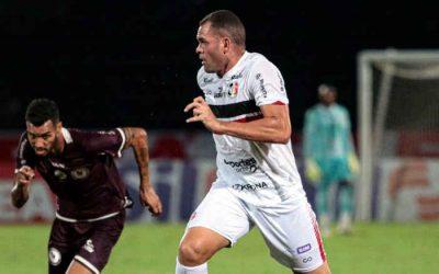 Mesmo com estreias, Santa fica num empate com o Jacuipense e segue sem vencer na C